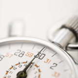 Detail of stopwatch with selective focus. - 5381755