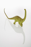Plastic dinosaur. poster
