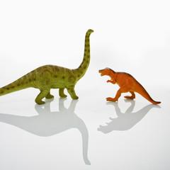 Dinosaur toys.