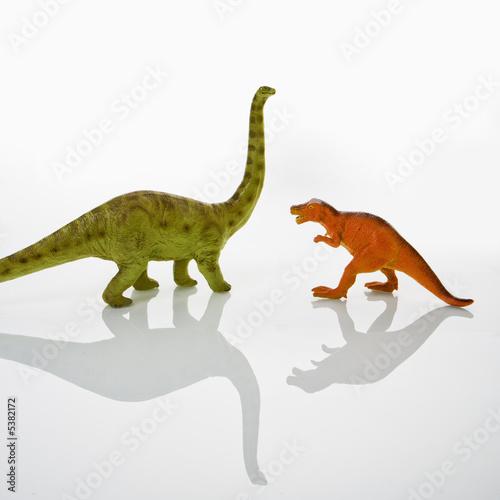 Poster Dinosaur toys.
