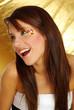 smiling beuatiful girl