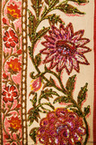 Floral textile. poster