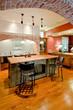 extravagant kitchen in tuscan style