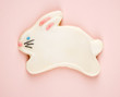 Bunny sugar cookie.