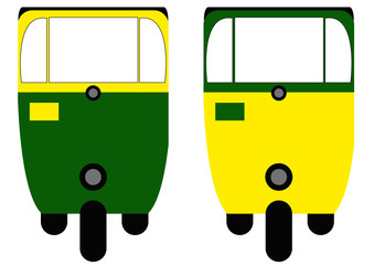 rickshaw cab