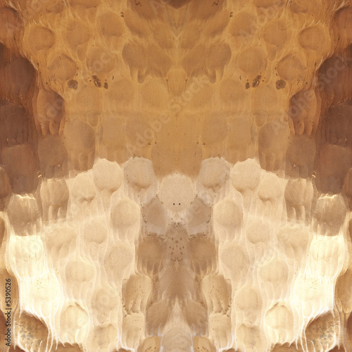 Macro close-up pattern of hammered cooper pot for background - 5390526