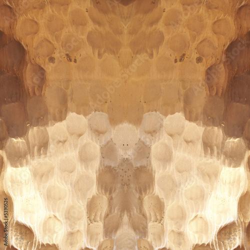 Leinwandbild Motiv Macro close-up pattern of hammered cooper pot for background