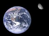 Mond und Erde - Fine Art prints