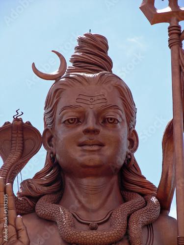 Statue géante de Shiva, Grand Bassin, Ile Maurice