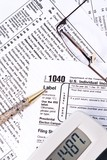 IRS Income Tax Forms poster