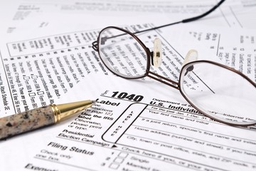 IRS 1040 Income Tax Forms