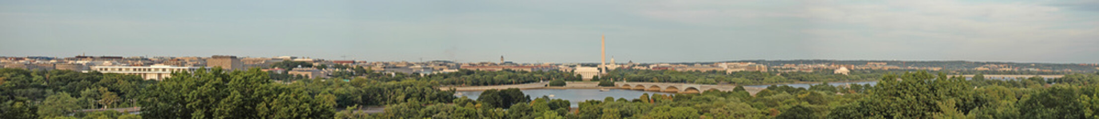 Washington, DC Skyline