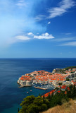 City of Dubrovnik, Croatia, Adriatic sea poster