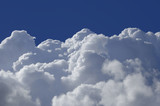 Cumulus clouds poster