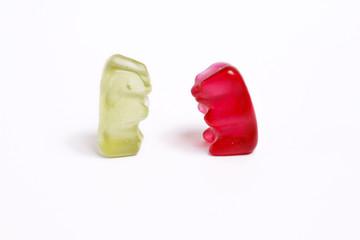 Gummibärchen, Gespräch