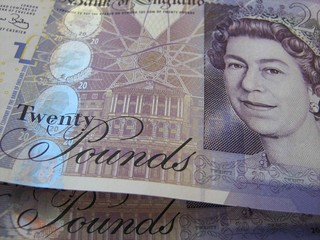 New Twenty Pound Notes