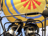 The Burners on a Hot Air Balloon poster
