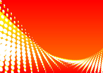 vector file of red color wave background