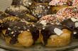 Hanukkah doughnut