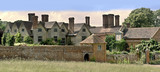 stately home packwwod house warwickshire midlands england uk poster