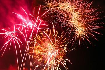 Celebratory firework.