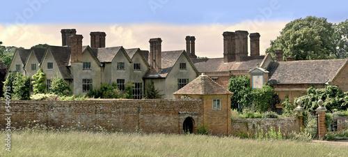 poster of stately home packwwod house warwickshire midlands england uk