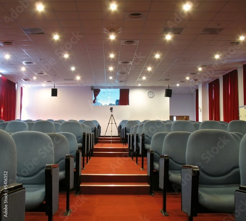 Modern Theater Hall