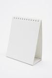 Blank desktop calendar with copy space for text poster