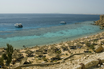 Al faraana reef beach, sharm al sheik, egypt