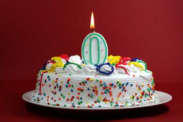 Birthday Cake - Zero