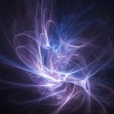 silk rays burst poster