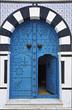 blue door - sidi bou saïd - tunisia - north africa
