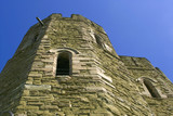 stokesay castle shropshire the midlands england uk gb eu poster
