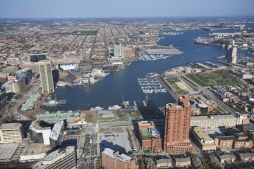 Baltimore Harbor.
