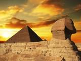 Fototapeta piramida - egipt - Starożytna Budowla
