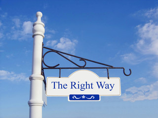 'The Right Way'.