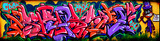 Fototapeta Amazing colorful graffiti