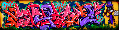 canvas print picture Amazing colorful graffiti