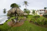 hotel resort caribbean corn island nicaragua central america poster