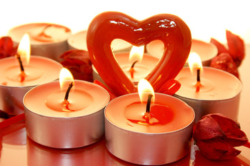 decoration; christmas; candle; love