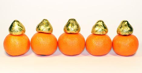 Christmas mandarin © Masonic