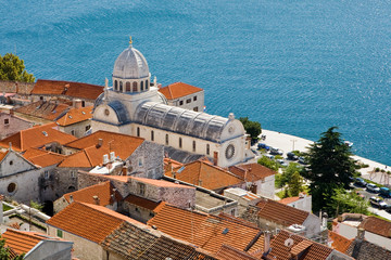 Cathedral of St James, UNESCO WHS. - Sibenik, Croatia.