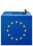 Election européenne poster