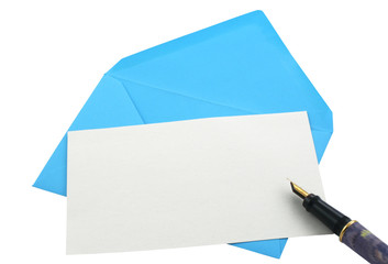 envelope and note