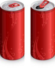 Canette de soda, image vectorielle
