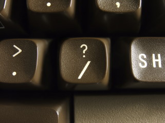 computer question mark button