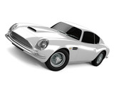 Silvery Classical Sports Car poster