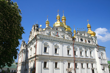 Assumption  temple; Pecherskaya Lavra, Kiev, Ukraine