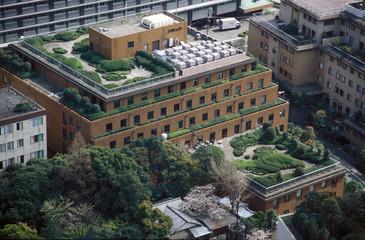 Dachgärten in Tokyo
