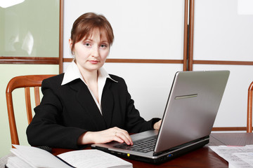 woman in work